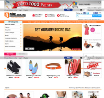 They use osCommerce! Visit Website